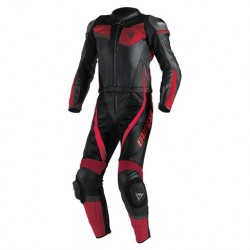 MONO DAINESE VELOSTER DIVISIBLE NEGRO ROJO