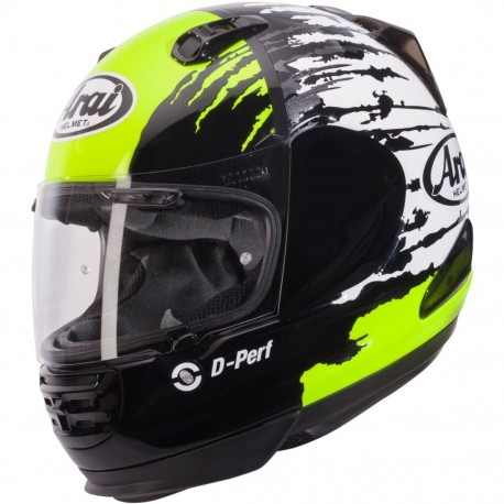 CASCO ARAI REBEL SPLASH GREEN