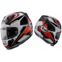 CASCO ARAI REBEL PATRIOT BLANCO NEGRO ROJO