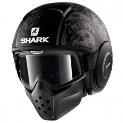 CASCO SHARK DRAK SANCTUS GRIS