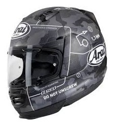 CASCO ARAI REBEL COMMAND NEGRO