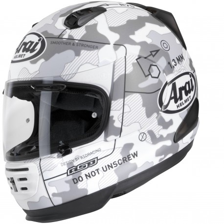 CASCO ARAI REBEL COMMAND BLANCO
