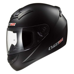CASCO LS2 FF352 ROOKIE NEGRO MATE