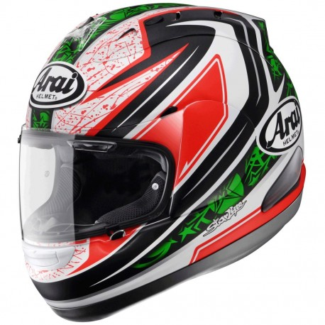CASCO ARAI RX7GP HAYDEN GREEN NEW