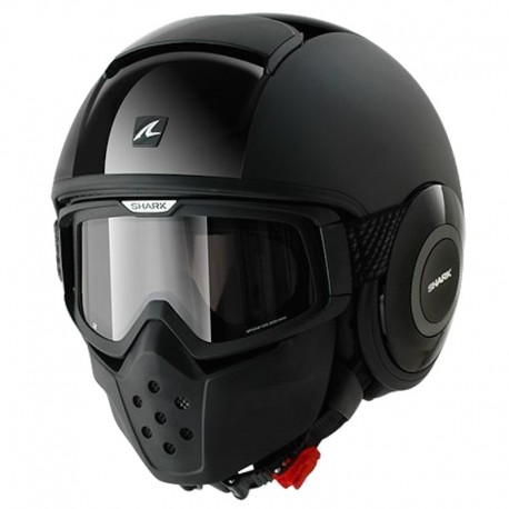 CASCO SHARK RAW DUAL BLACK