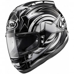 CASCO ARAI RX7GP EDWARDS NEGRO