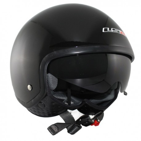 CASCO LS2 OF561 WAVE NEGRO