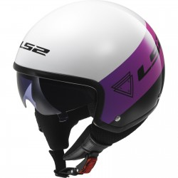 CASCO LS2 OF561 BEAT ROSA FLUOR