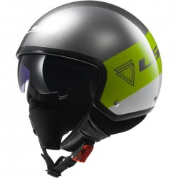 CASCO LS2 OF561 BEAT VERDE FLUOR