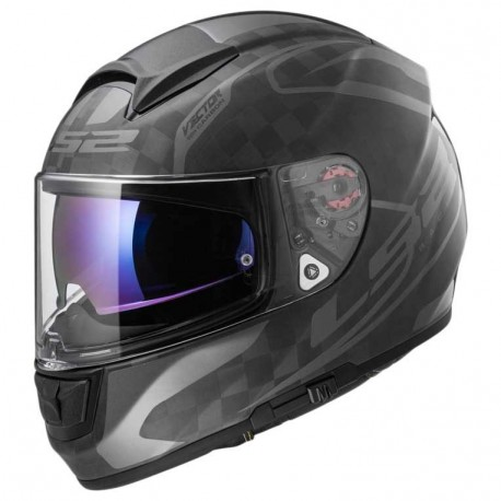 CASCO LS2 FF397 VECTOR CT2 SINGLE MONO MATE CARBON
