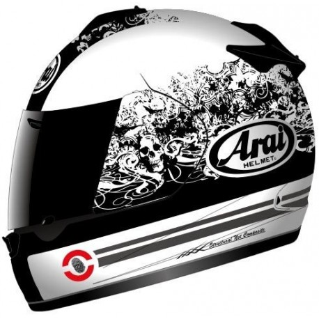 CASCO ARAI CHASER-V THRILL BLANCO