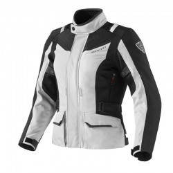 CHAQUETA REVIT SAND LADIES PLATA ROJA