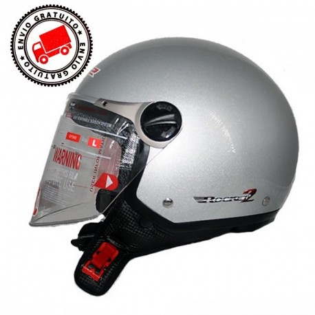 CASCO LS2 OF560 ROCKET II PLATA