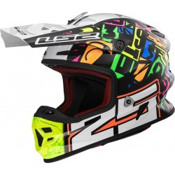 CASCO LS2 MX456 PUNCH IVAN CERVANTES