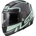 CASCO LS2 FF397 VECTOR EVO FT2 ORION NEGRO MATE VERDE