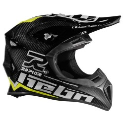CASCO HEBO ENDURO MX RAPTOR CARBON VERDE