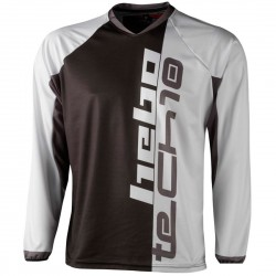 CAMISETA HEBO TRIAL TECH 10 GRIS