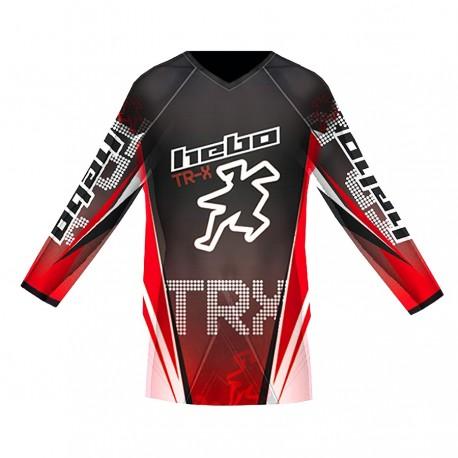 T-SHIRT HEBO TRIAL PRO TR-X JUNIOR R