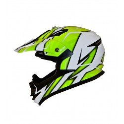 CASCO SHIRO MX734 TROY AMARILLO FLUOR