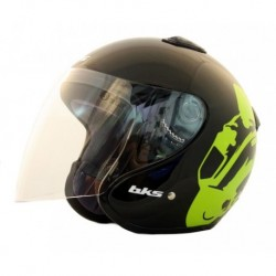 CASCO BKS FLASH RULES NEGRO