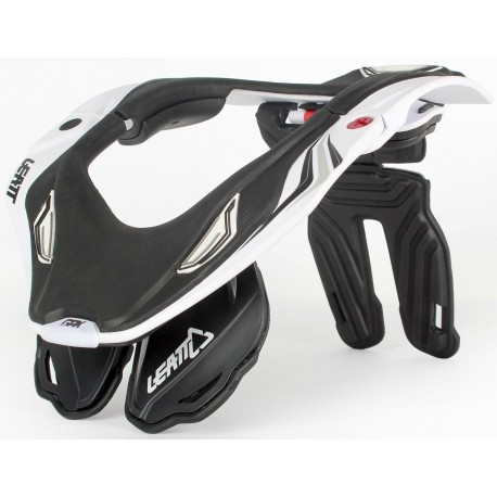 COLLARIN LEATT GPX 5.5 BLANCO NEGRO