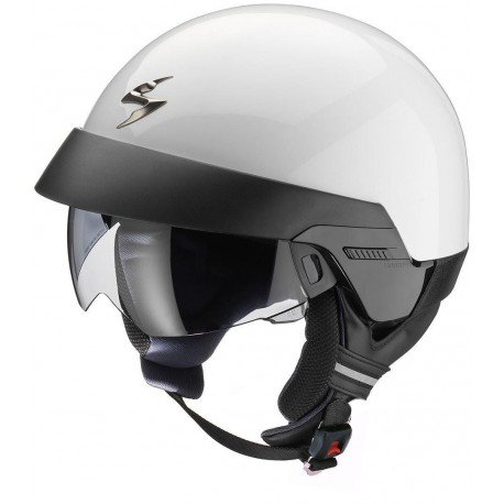 CASCO SCORPION EXO 100 BLANCO