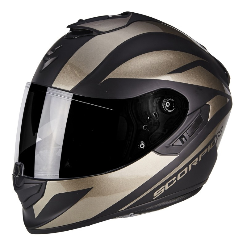 14a8448c66184 CASCO SCORPION EXO 1400 FREEWAY II NEGRO MATE TITANIUM