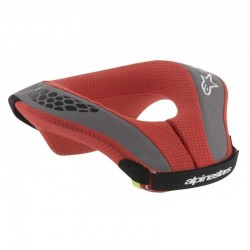 COLLARIN ALPINESTARS SEQUENCE YOUTH NEGRO ROJO