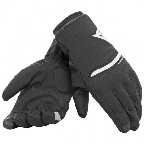 GUANTES DAINESE PLAZA 2 DDRY NEGRO BLANCO