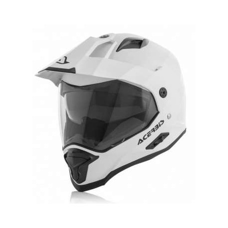 CASCO ACERBIS REACTIVE BLANCO