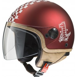 CASCO AXO SUBWAY TOP ROJO