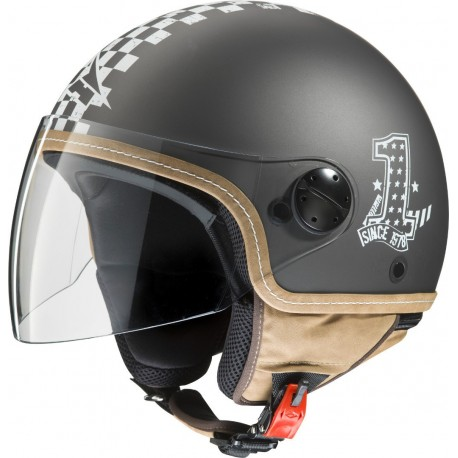 CASCO AXO SUBWAY TOP GRIS CAMEL