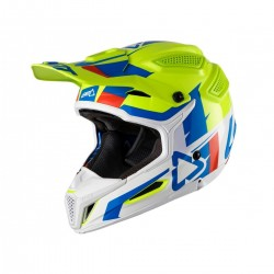 CASCO LEATT GPX 5.5 V10 LIMA BLANCO