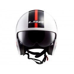 CASCO LS2 OF599 SPITFIRE INKY BLANCO NEGRO