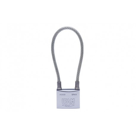 CANDADO IFAM INOX 50 CABLE BLISTER