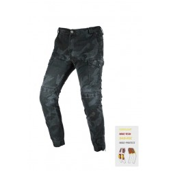 JEANS RACE RED FACTORY MILITAR