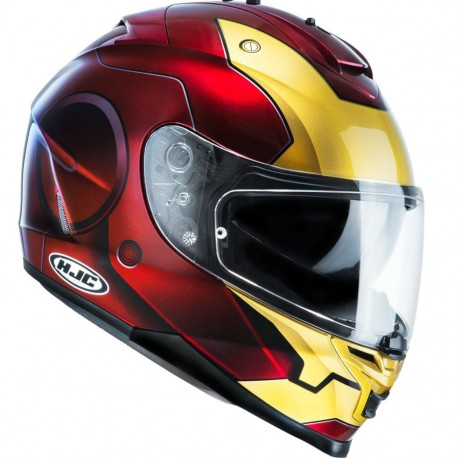 CASCO HJC IS17 IRONMAN MC1