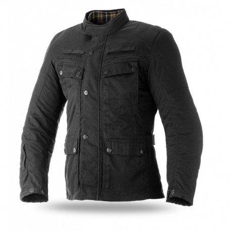 CHAQUETA SEVENTY DEGREES JC57 NEGRO