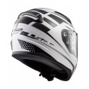 CASCO LS2 FF353 RAPID CARBORACE BLANCO NEGRO