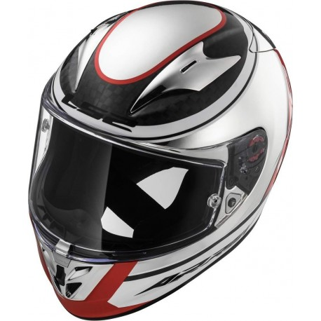 CASCO LS2 FF323 ARROW C EVO INDY BLANCO NEGRO ROJO