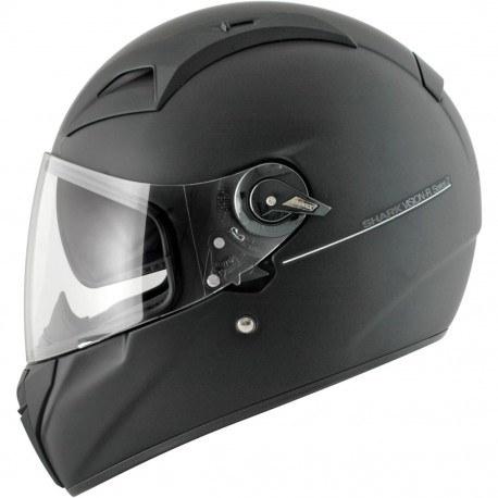 CAPACETE SHARK VISION R 2 BLANK PRETO MATE