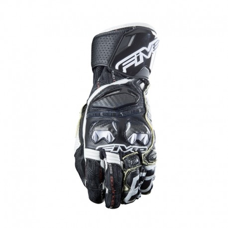GUANTES FIVE5 RFX RACE NEGRO BLANCO