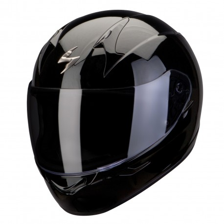 CASCO SCORPION EXO 390 NEGRO BRILLO