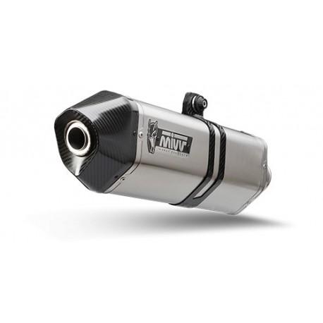 ESCAPE MIVV COMPLETO SPEED EDGE INOX PARA YAMAHA T-MAX 500 (12-16)