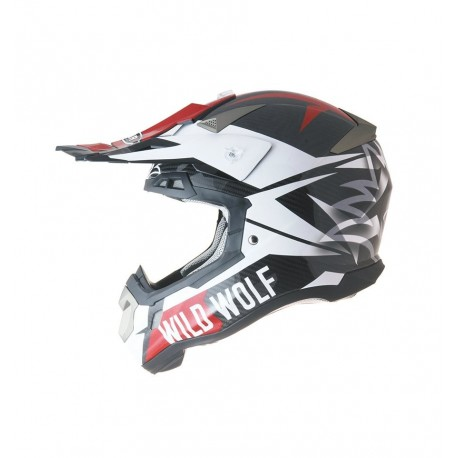 CASCO SHIRO MX-917 WILD WOLF