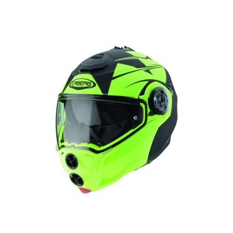 CASCO CABERG DROID PATRIOT NEGRO FLUOR