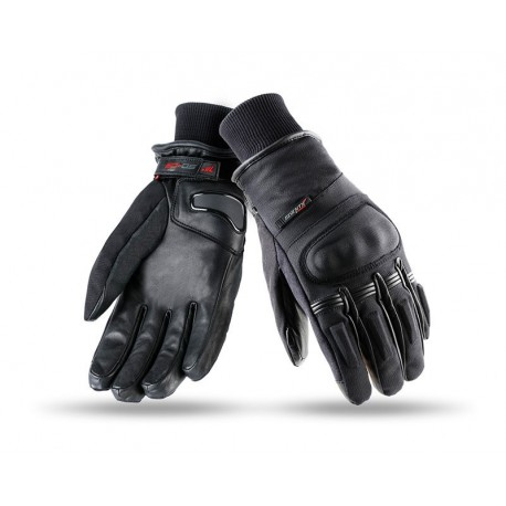 GUANTES SEVENTY DEGREES SD-C9 NEGRO ROJO