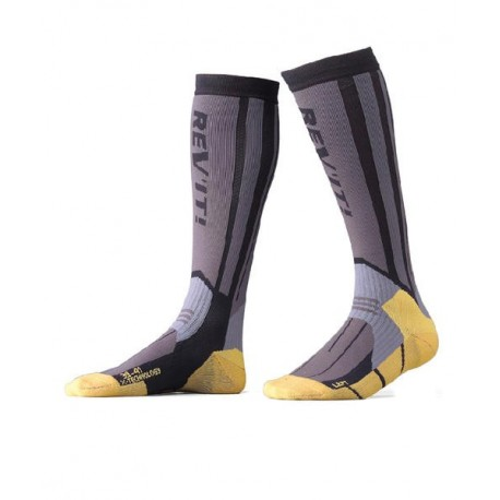 CALCETINES REVIT ENDURO/MX GRIS/ AMARILLO