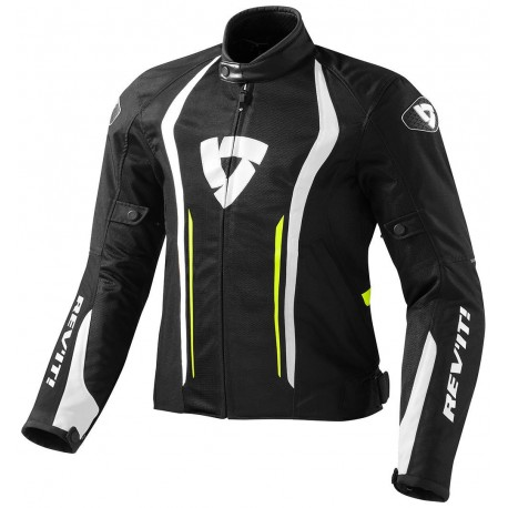 CHAQUETA REVIT AIRFORCE NEGRO AMARILLO FLUOR