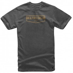 CAMISETA ALPINESTARS EMBLEMATIC CHARCOAL HEATHER